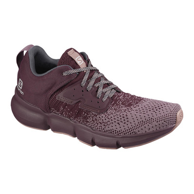 SALOMON - PREDICT SOC - Chaussures running Femme flint/winetastin/bri