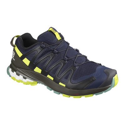 SALOMON - Shoes XA PRO 3D v8 Navy Blaze/Beluga/Lip Homme Navy Blaze/Beluga/Lip