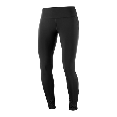 SALOMON - AGILE WARM - Legging Femme black