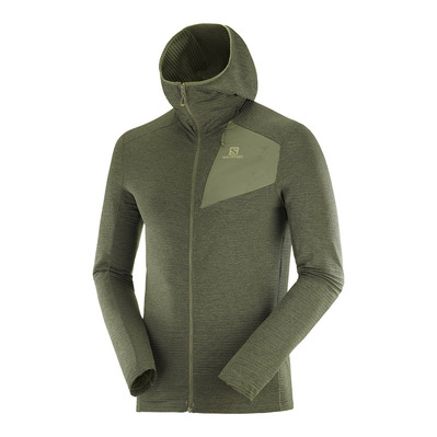 SALOMON - OUTLINE - Polar hombre olive night
