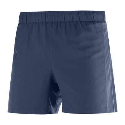 SALOMON - AGILE 5'' - Shorts - Men's - mood indigo