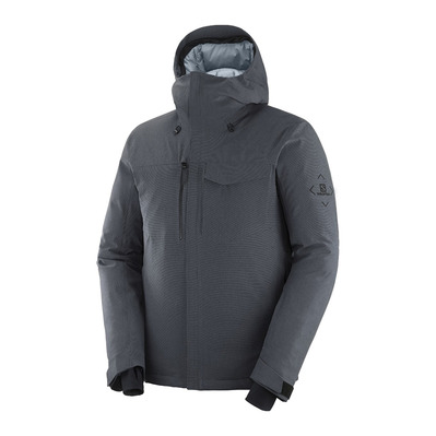 SALOMON - ARCTIC DOWN - Doudoune Homme ebony/heather