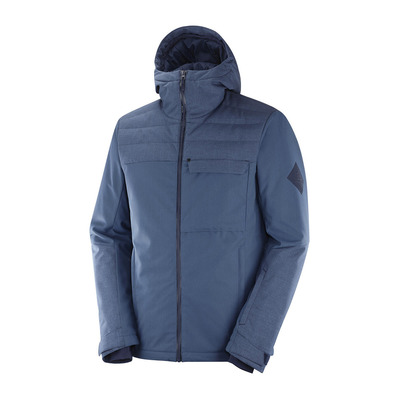 SALOMON - DEEPSTEEP - Veste ski Homme denim/night sky