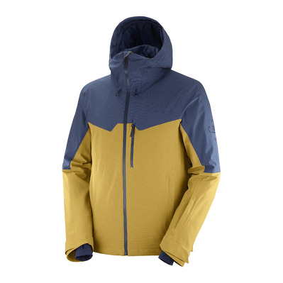 SALOMON - UNTRACKED - Veste Uomo cumin/dark denim/heather