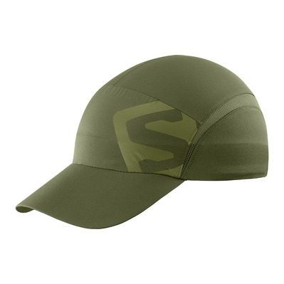 SALOMON - XA - Cappellino olive night/martini olive