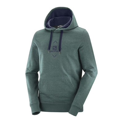 SALOMON - SHIFT HOODIE M GREEN GABLES/NIGHT SKY Homme GREEN GABLES/NIGHT SKY