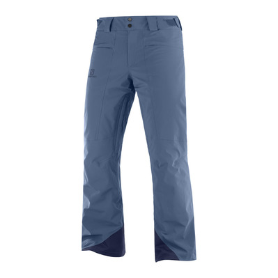 SALOMON - BRILLIANT - Pantaloi da sci Uomo dark denim