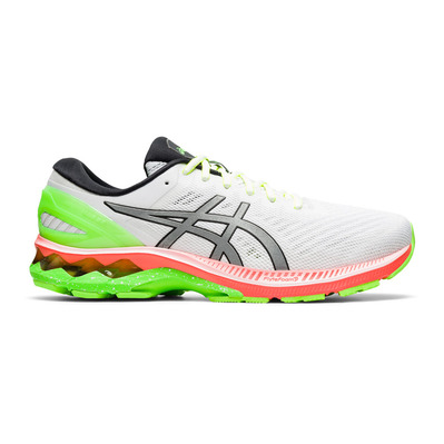 ASICS - GEL-KAYANO 27 SUMMER LITE SHOW - Chaussures running Homme white/pure silver