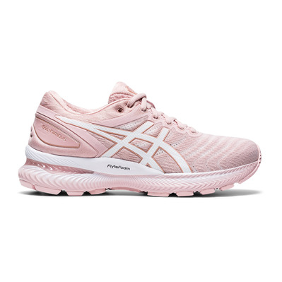 ASICS - GEL-NIMBUS 22 - Chaussures running Femme ginger peach/white