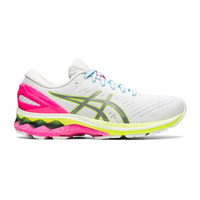 ASICS - GEL-KAYANO 27 SUMMER LITE SHOW - Chaussures running Femme white/pure silver