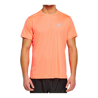 ASICS - SILVER - Maillot Homme flash coral