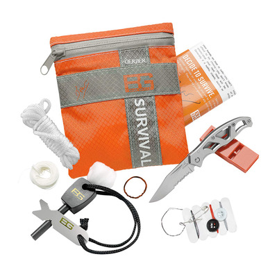 GERBER - BEAR GRYLLS - Kit survie rouge