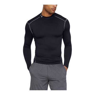 UNDER ARMOUR - COLDGEAR ARMOUR - Funktionsshirt - Männer - black/steel