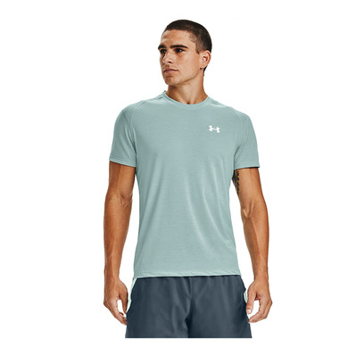 UNDER ARMOUR - UA STREAKER 2.0 SHORTSLEEVE-BLU Homme Enamel Blue/Beta/Reflective