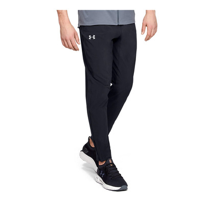UNDER ARMOUR - UA STORM LAUNCH PANT 2.0-BLK Homme Black/Black/Reflective