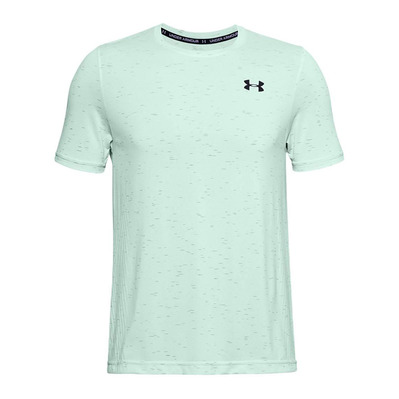 UNDER ARMOUR - SEAMLESS - Funktionsshirt - Männer - seaglass blue/black