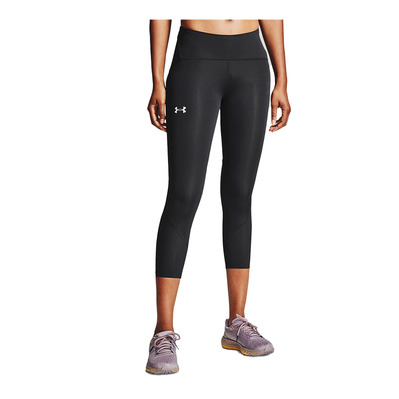 UNDER ARMOUR - UA Fly Fast 2.0 HG Crop-BLK Femme Black/Black/Reflective