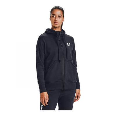 UNDER ARMOUR - RIVAL FLEECE - Felpa Donna black/white/white