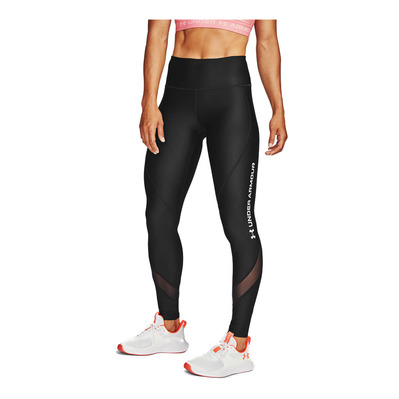 UNDER ARMOUR - UA HG Armour WM Legging-BLK Femme Black/Halo Gray/Halo Gray