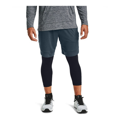 UNDER ARMOUR - UA Train Stretch Shorts-BLU Homme Mechanic Blue/Black