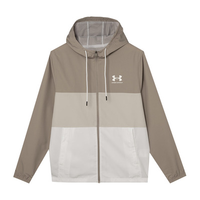 UNDER ARMOUR - SPORTSTYLE WIND GRPHC - Chaqueta hombre highland buff/white/summit white