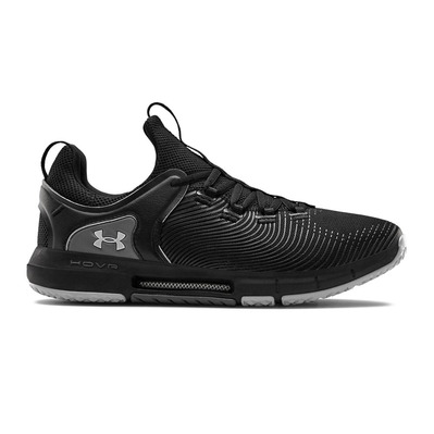 UNDER ARMOUR - HOVR RISE 2 - Chaussures training Homme black/black/mod gray