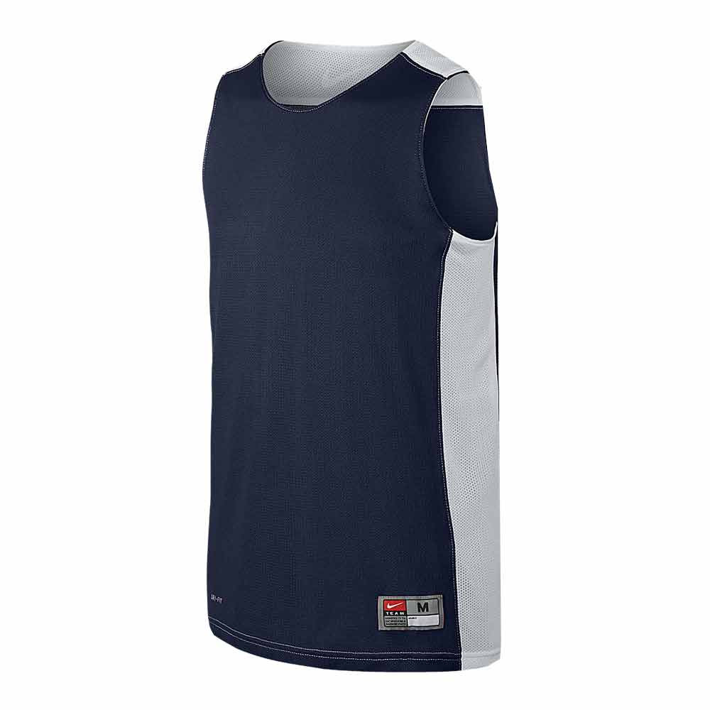 césped Manhattan cinta  BALONCESTO Nike HUSTLE REV - Camiseta reversible junior navy/white -  Private Sport Shop