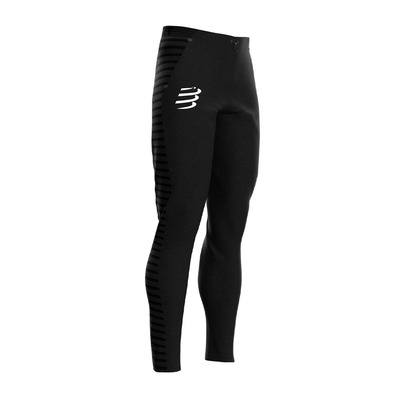 COMPRESSPORT - SEAMLESS - Leggings - black