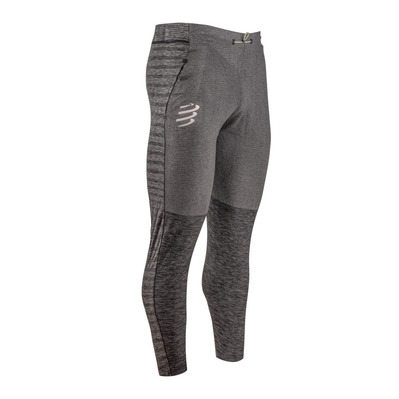 COMPRESSPORT - SEAMLESS - Legging grey melange