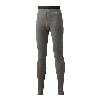 MIZUNO - Wool Long Tights Femme Black/Black