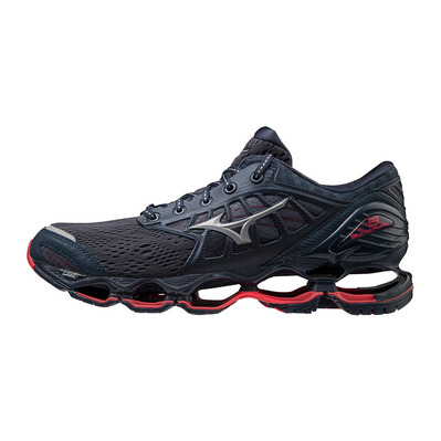 MIZUNO - WAVE PROPHECY 9 - Chaussures running Homme mood indigo/frost gray/lollipop