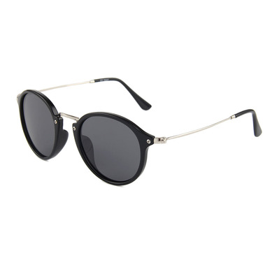 SEXTON - BRIDGE - Gafas de sol black/black smoke