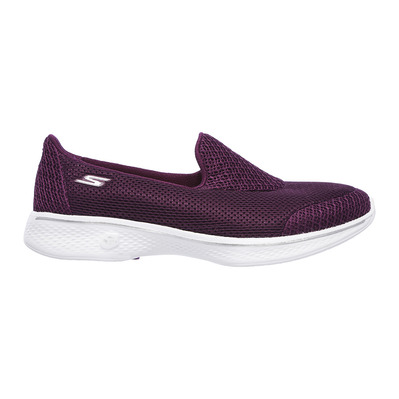 SKECHERS - GO WALK 4 PROPEL - Shoes - Women's - raspberry textile/trim