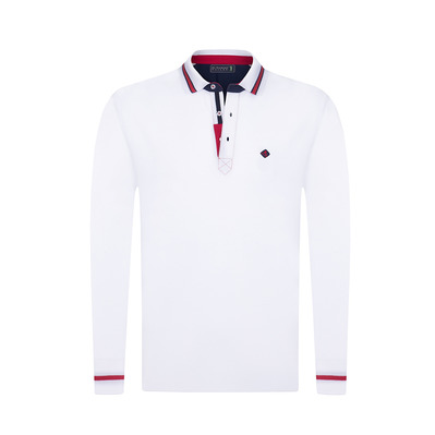 SIR RAYMOND TAILOR - BACKER - Polo Homme white