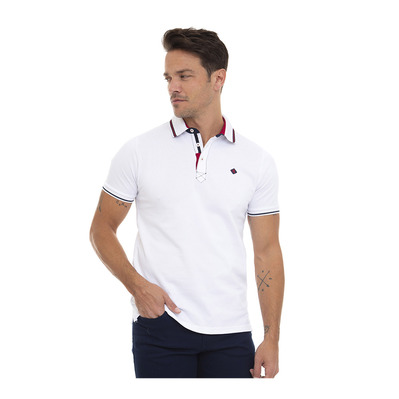 SIR RAYMOND TAILOR - CHAM - Polo Homme white