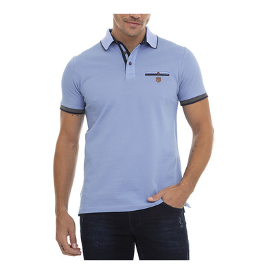 SIR RAYMOND TAILOR - GEAR - Polo Homme blue