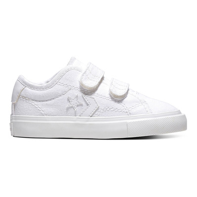 CONVERSE - EASY-ON STAR REPLAY LOW TOP - Chaussures Enfant white grade B