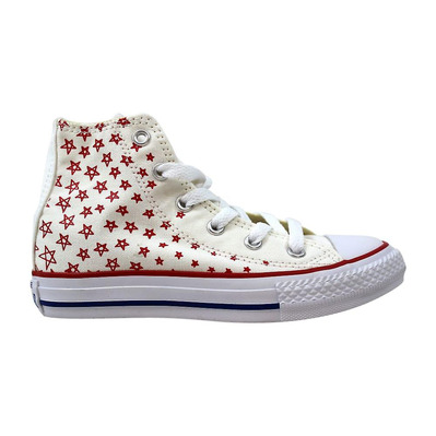 CONVERSE - CHUCK TAYLOR ALL STAR HIGH - Chaussures Junior white/casino/blue