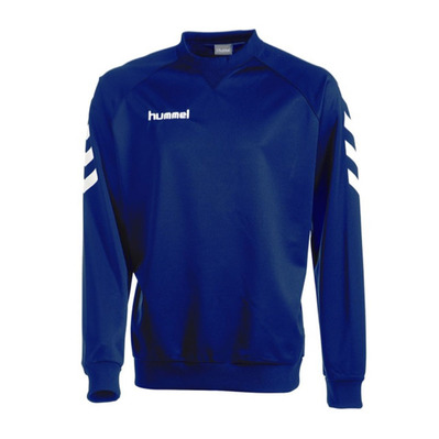 HUMMEL - CORPORATE POLY - Sweat Junior marine
