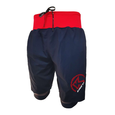KINETIK - ULTRA TRAIL - Shorts - Men's - navy red