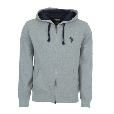 US POLO ASSN - US Polo TRICOLOR HOODY FLEECE - Sweatshirt -Men's - grey