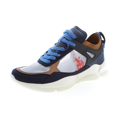 US POLO ASSN - US Polo ALBERT - Shoes - Men's - dark blue/brown