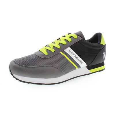 US POLO ASSN - US Polo BRANDON - Shoes - Men's - grey/black