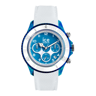 ICE WATCH - ICE DUNE L - Chronograph Watch - white/superman blue