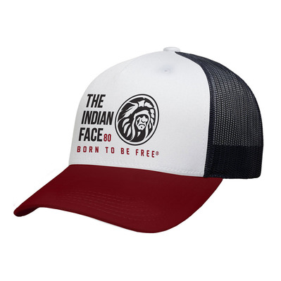 THE INDIAN FACE - FREE SOUL - Gorra white/red/black
