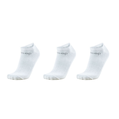 JEEP - Outfitter SNEAKER - Socks x3 white/grey