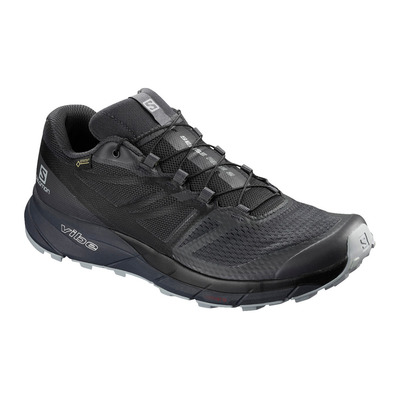 SALOMON - SENSE RIDE 2 INVISIBLE GTX - Trail Shoes - Men's - ebony