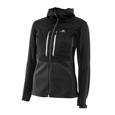 SALOMON - DRIFTER AIR MID - Jacket - Women's - black