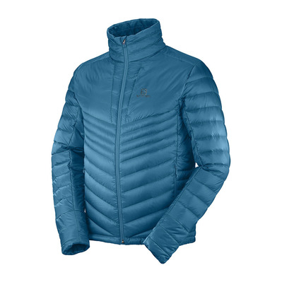 SALOMON - HALOES DOWN - Down Jacket - Men's - moroccan blue