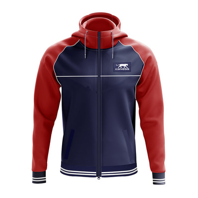 AIRNESS - VENUS - Jacket - Men's - red/navy